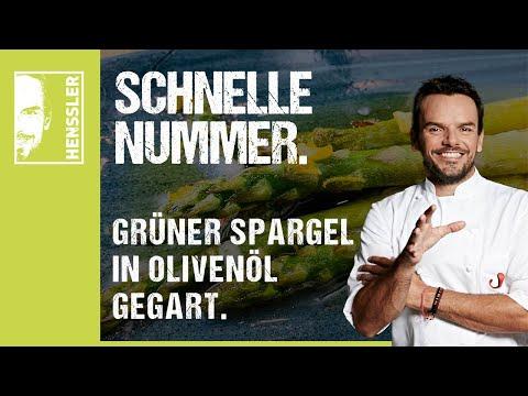 Grüner Spargel-Rezept in Olivenöl gegart von Steffen