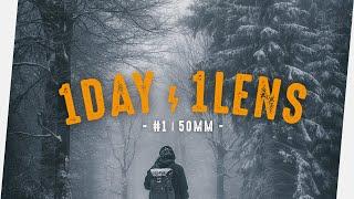 Fotografieren NUR Mit 50mm  Festbrennweite - 1DAY/1LENS - Fotografie VLOG Deutsch | Zhiyun Crane 2