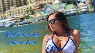 Boat Tour Of DESTIN, FLORIDA