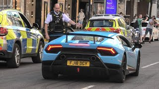 Police vs Supercars and Modified cars!