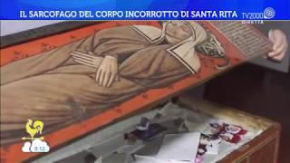 Il Sarcofago Del Corpo Incorrotto Di Santa Rita