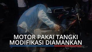 Dinas Perdagangan Kota Padang Amankan 4 Mobil dan 10 Motor Pakai Tangki Modifikasi Antre di SPBU