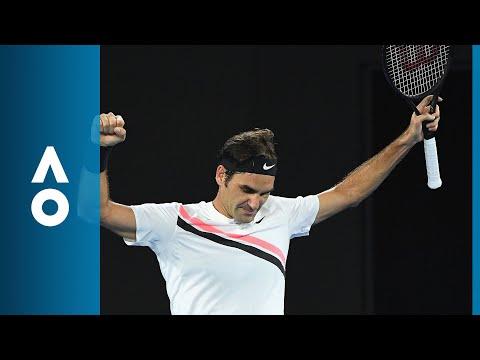 Richard Gasquet v Roger Federer match highlights (3R) | Australian Open 2018