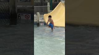 Aiden at Hershey Waterpark 6yo