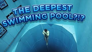 WHERE You Want Your BIRTHDAY??!! FREEDIVING in the DEEPEST Pool!! /// WEEK 87 : Belgium - Video Youtube