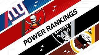 Wild Card Weekend Power Rankings | NFL Now