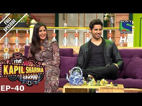 The Kapil Sharma Show - दी कपिल शर्मा शो–Episode 40–Baar Baar Dekho Stars–4th September 2016