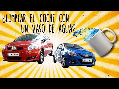 Cómo limpiar tu coche con sólo una taza de agua - Truco Low-Cost