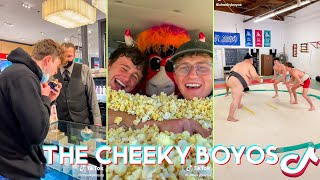 NEW Try Not To Laugh The Cheeky Boyos Tik Tok Videos - Funny @Cheeky Boyos  Tik Toks Dares 2021