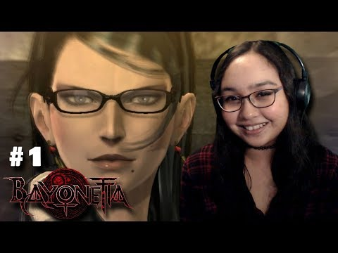 I LOVE HER!!! - Let's Play: Bayonetta PC Gameplay Walkthrough Part 1