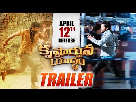 Krishnarjuna Yuddham Trailer - Nani, Anupama Parameswaran, Rukshar Dhillon | Merlapaka Gandhi | #KAY