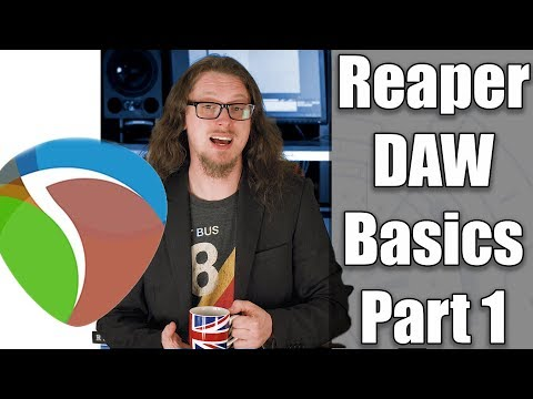 Reaper DAW 101:- The Basics - PART 1
