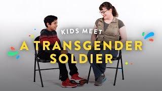 Kids Meet a Transgender Soldier | Kids Meet | HiHo Kids