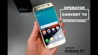 S7 SM-G930V Verizon converted into SM-G930U International on