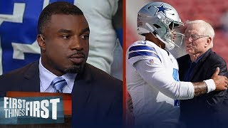 Dak's inability to carry Cowboys without Zeke should impact contract— Westbrook | FIRST THINGS FIRST