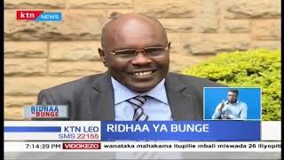 Ridhaa ya Bunge:Seneta aliyempata mwalimu wake Bungeni