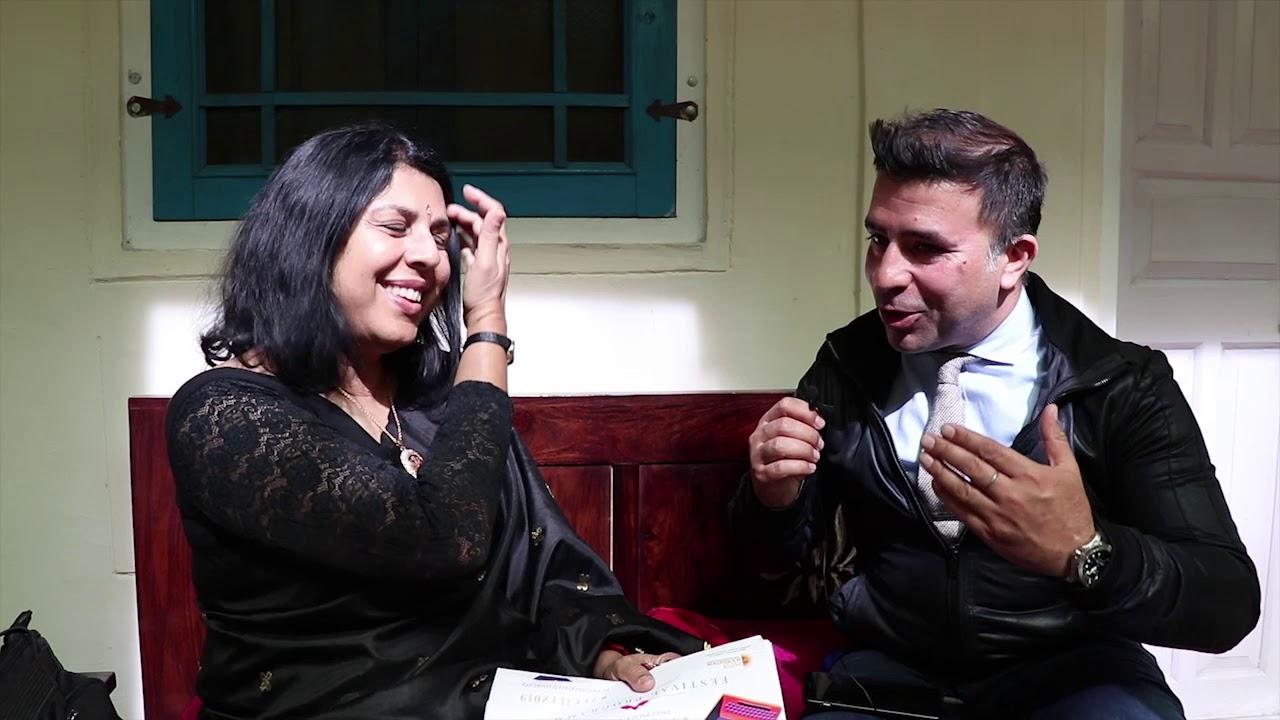 Chitra Banerjee Divakaruni | Jaipur Literature Fest 2019