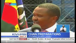 Ministry of sports partners with Machakos County to refurbish stadium ahead of CHAN championships