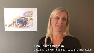Här berättar Lina Enskog Broman, Energiföretagen Sverige, hur kraftvärme funkar och varför det är så smart.