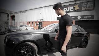 """All Black Rolls Royce Ghost By Lord Aleem...The new """"Lord Mobile"""""""