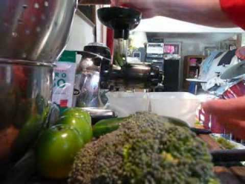 Video How To Juice Broccoli Recipe