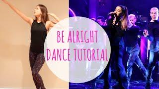 Ariana Grande 'BE ALRIGHT' Dance Tutorial | andreakswilson