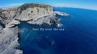 【FPV ドローン】Just fly over the sea !! Freestyle AstroX J5