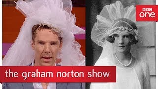 Бенедикт Камбербэтч, Benedict Cumberbatch as a 1920s bride? - The Graham Norton Sho