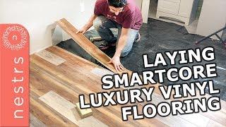 SmartCore Flooring Installation | Nestrs