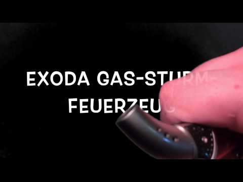 Design Gas-Sturm-Feuerzeug eXODA Pocket Torch Mini Bunsen-Gas-Löt-Brenner