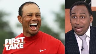 Tiger Woods' 'intimidation factor' made competitors crack under pressure - Stephen A. | First Take