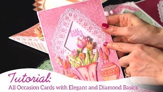 All Occasion Cards with Elegant and Diamond Basics