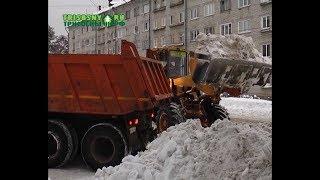 Снегопады в последние дни значительно прибавили работы дорожным службам