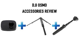 DJI Osmo Accessories Review in 4K | Stand + Tripod + Extension Rod