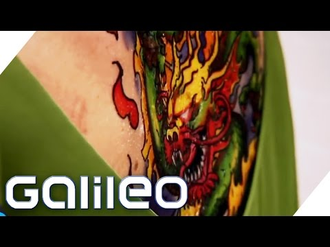 Selbstversuch Probe-Tattoo | Galileo Lunch Break