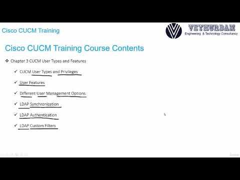 Cisco CUCM Training ( How To Install Configure Maintain ) - learn ...