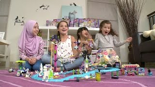 Annie and Hayley Meet New Friends | LEGO Friends | Bratayley