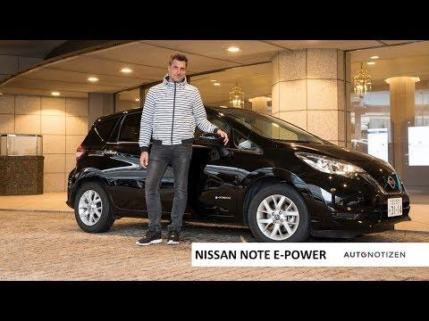 Nissan Note E-Power: Mit dem Hybrid durch Tokio - Review, Test, Fahrbericht