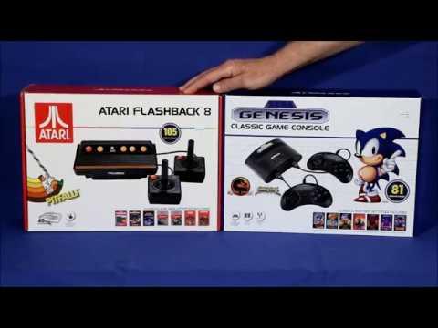 Atari vs Sega Consoles