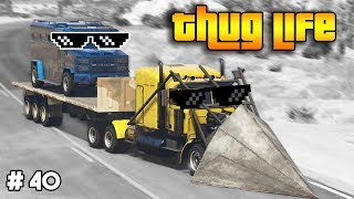 GTA 5 ONLINE : THUG LIFE AND FUNNY MOMENTS (WINS, STUNTS AND FAILS #40)