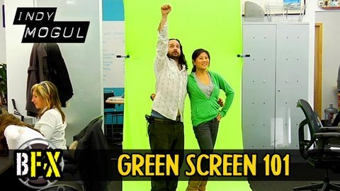 Make A Portable Green Screen On The Cheap
