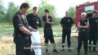 preview picture of video 'Ochotnicza Straż Pożarna w Puszczykowie (reportaż)'