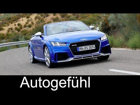 Audi TT RS Sound & Launch Control Accleration 0-100 km/h 0-60 mph 2017 - Autogefühl