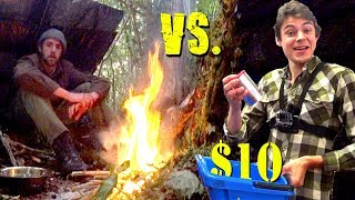 1 VS 1 Survival Challenge with $10 Dollar Store Items