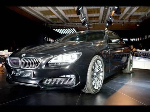 BMW Gran Coupe concept - by autocar.co.uk