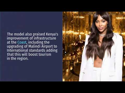 Naomi Campbell to become Magical Kenya International Tourism Ambassador