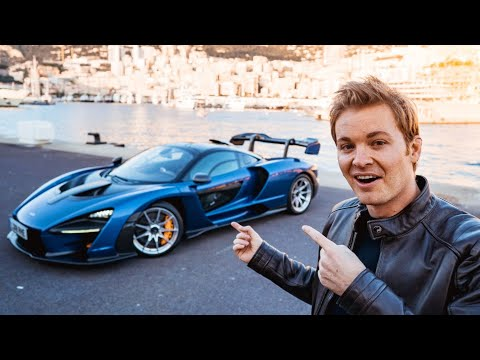 Image: WATCH: Nico Rosberg drives McLaren Senna at French F1 track!