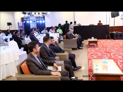 Aman Malhotra hosting for Captain Tractors | All India Dealer Conference - Goa