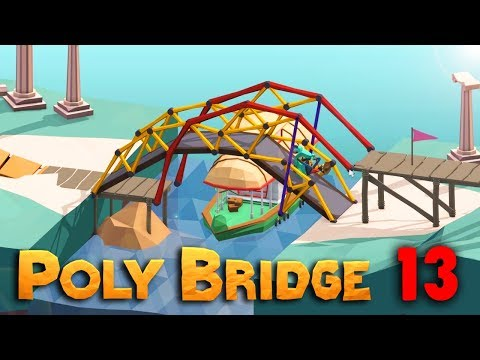 HOUPACÍ MOST | Poly Bridge #13 | Pedro
