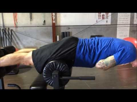 How to use the GHD (glute ham developer) machine.